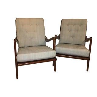 Danish Modern Lounge Chairs - A Pair