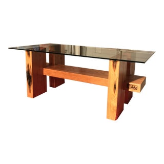 Large Timber Coffee Table
