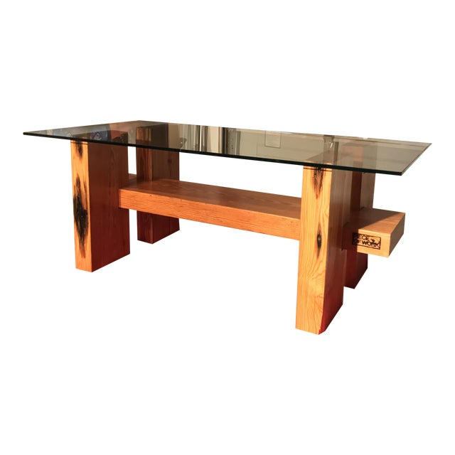 Image of Large Timber Coffee Table