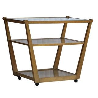 Drexel Precedent Rolling Bar Cart