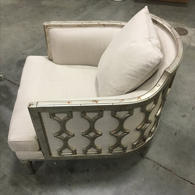 """Caracole """"Bee's Knees"""" Beige Chair - Image 5 of 5"""