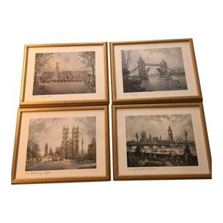 H.Moss Vintage London Prints - Set of 4