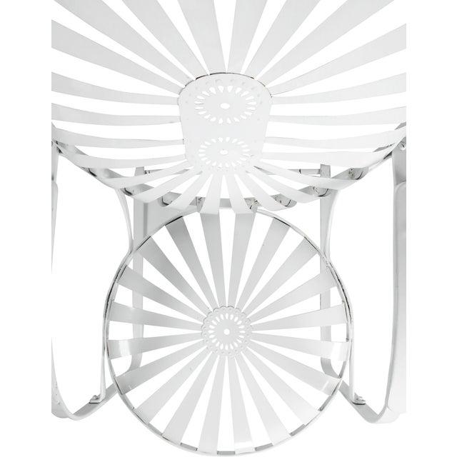Francois Carre Vintage Sunburst Cantilevered Chairs - A Pair - Image 8 of 11