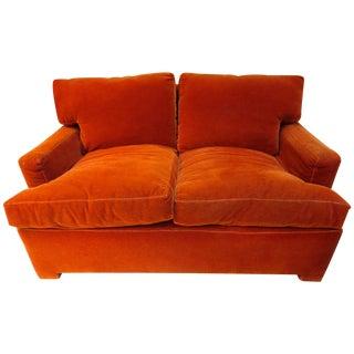 Ed Wormley for Dunbar Club-Style Love Seat