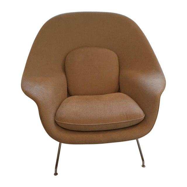 design within reach tan womb chair chairish
