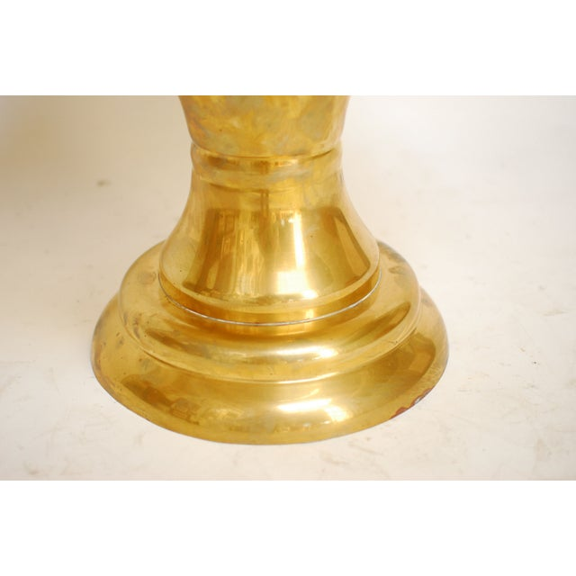 Image of Large Brass Champagne Trophy Urn