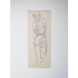 1940s Nude Drawing
