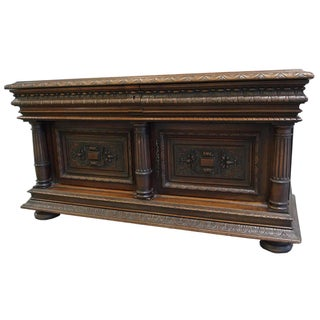 Late 19th-C. Cabinet by Goumain Frères