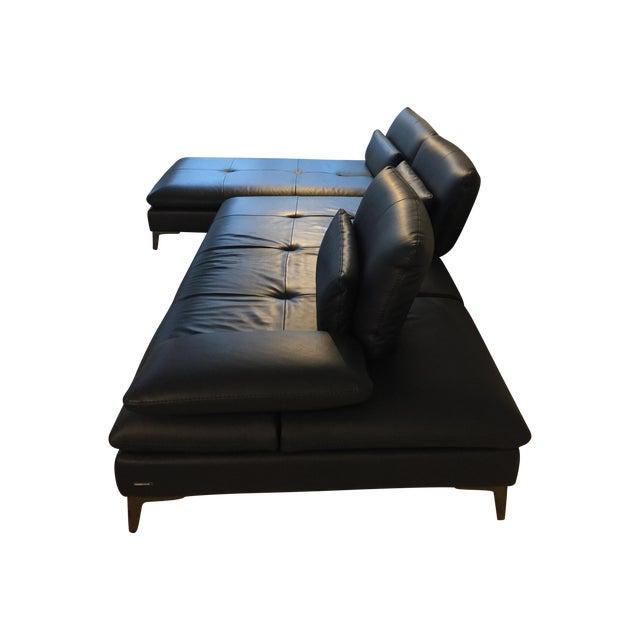 Image of Roche Bobois Scenario Leather Sectional