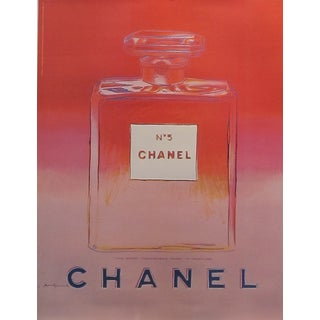 Pink Andy Warhol 1997 Chanel No.5 Poster
