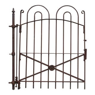 Antique Hair Pin Iron Fence