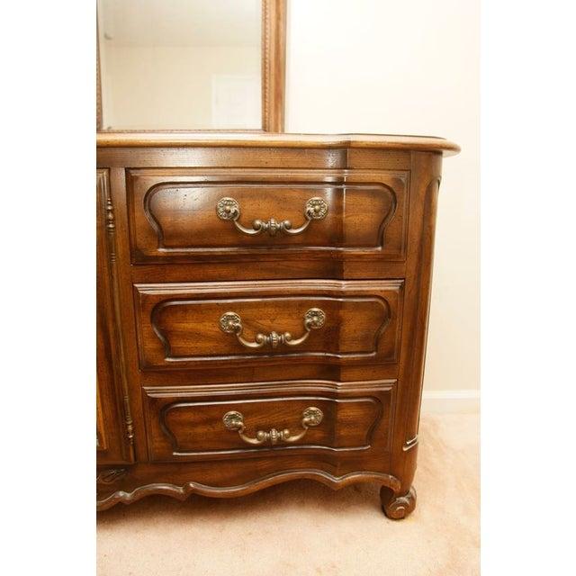 Century Furniture Double Mirror Dresser - Image 8 of 11