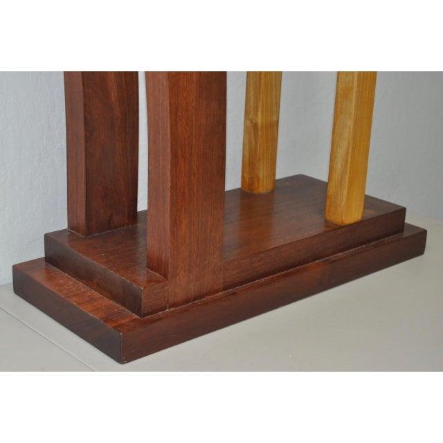 Dia Ates Hardwood Pedestal - Image 6 of 8