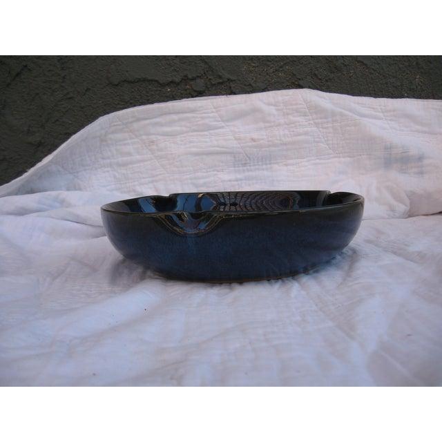 Indigo Pottery Catchall Bowl - Image 5 of 7