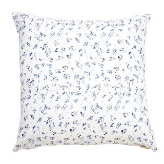 Breeze in White Linen Pillow