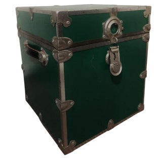 Rhino Trunk & Case Green Distressed Box
