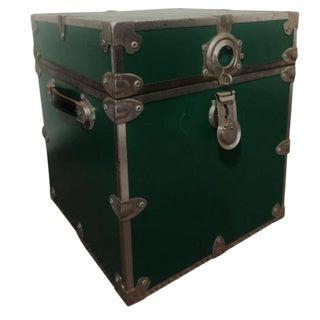 Rhino Trunk & Case Green Distressed Box