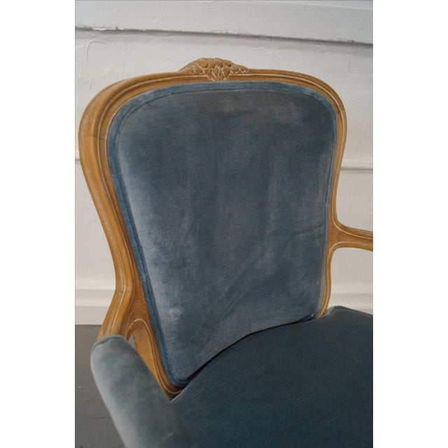 Rowe Louis XV Style Fauteuils Arm Chairs - Pair - Image 8 of 10
