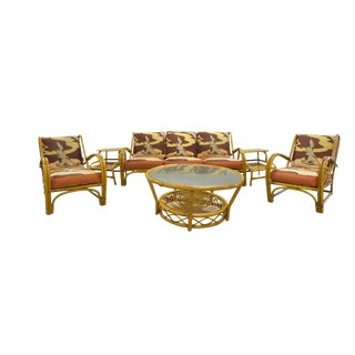 Willow & Reed Rattan Living Room Set