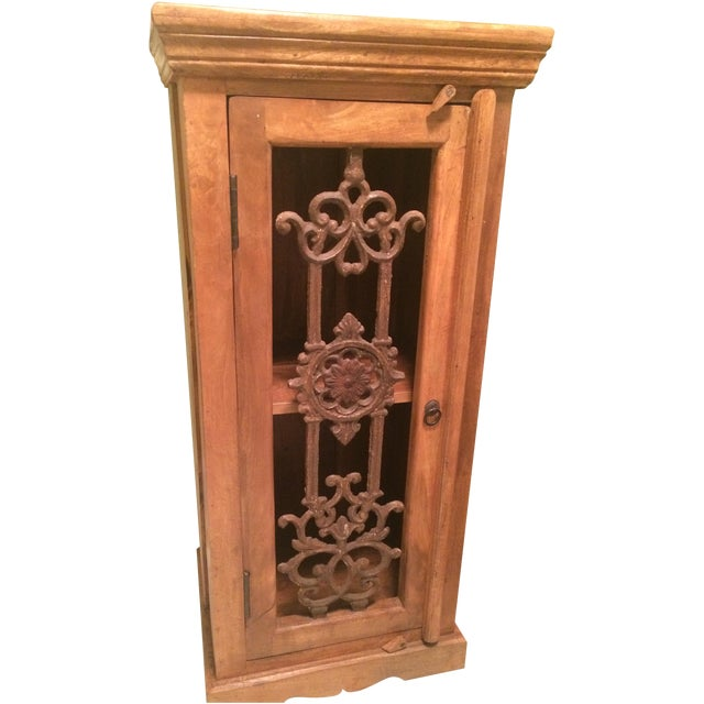 Teak Bookcase Cabinet - Image 1 of 4