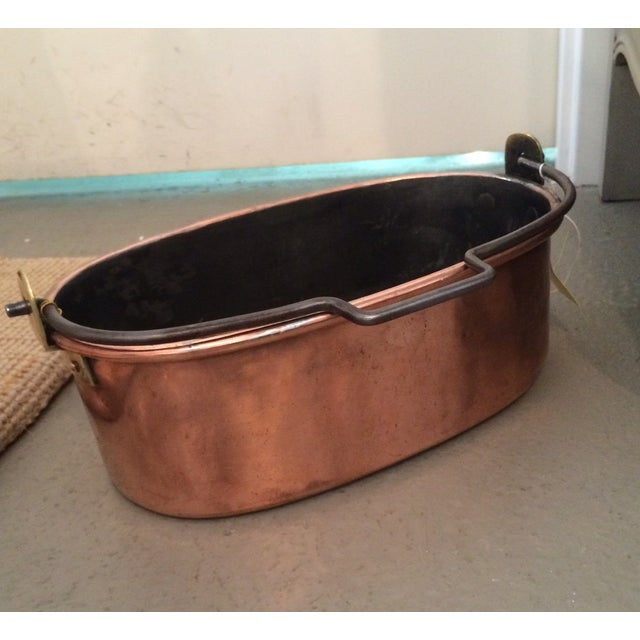 French Copper Pot - Image 3 of 3