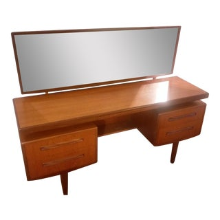 Mid-Century Modern G Plan Floating Top Vanity
