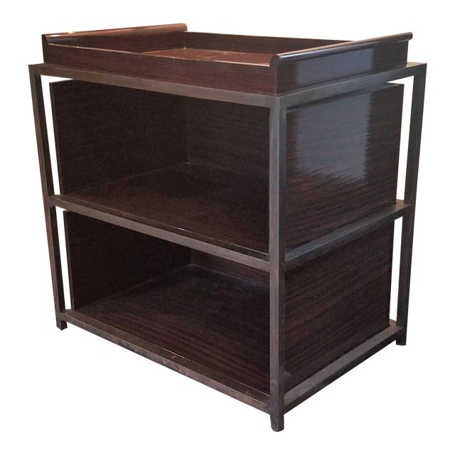 Industrial Side Tables With Trays - A Pair - Image 1 of 5