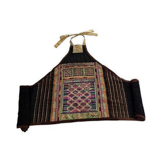 Asian Hill Tribe Costume Textile