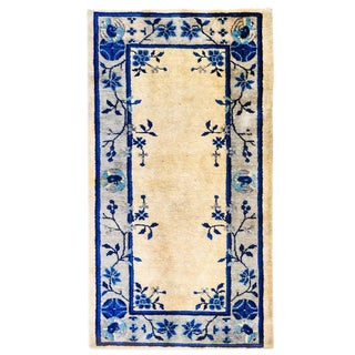 Early 20th Century Chinese Art Deco Rug - 2′ × 4′