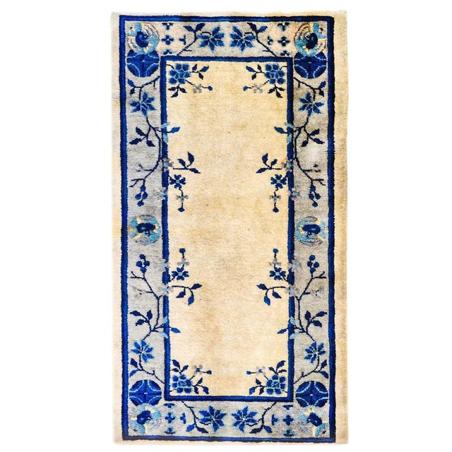 Early 20th Century Chinese Art Deco Rug - 2′ × 4′ - Image 1 of 5