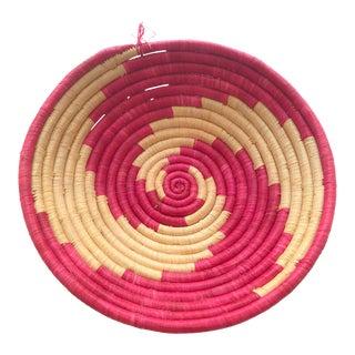 Vibrant Pink African Basket