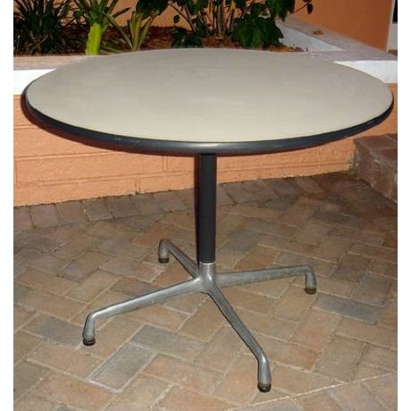 Original Vintage Eames Round Table - Image 2 of 3