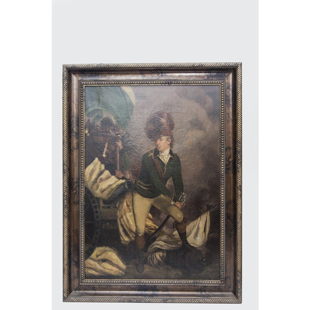 VIntage Reproduction Officer Painting - Image 2 of 10