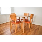 Image of Mid-Century Thonet Bentwood Table & Chairs