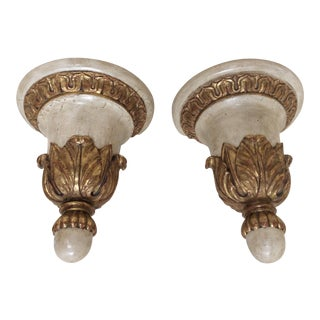 Antique Italian Wall Brackets - A Pair