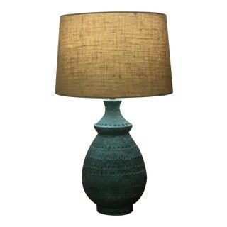 Bitossi Style Ceramic Table Lamp