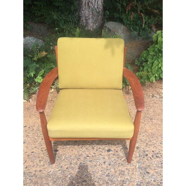 Grete Jalk Chartreuse Lounge Chair - Image 4 of 11