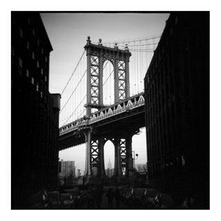 'Manhattan Bridge' Toy Camera Photograph