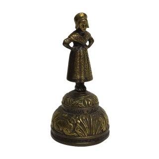 Figural Brass Sanctuary Church Bell