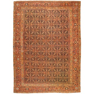 Antique Persian Fereghen Carpet