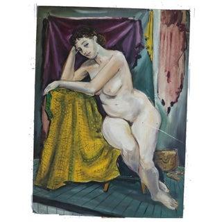 Original Alvin M. Cohen Oil Painting