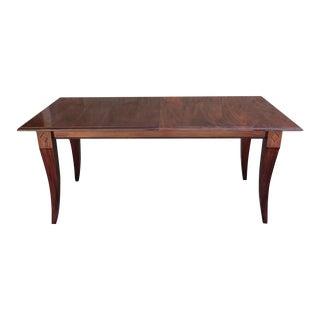 Mahogany Extension Dining Table