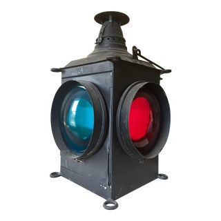 Vintage Dressel Railroad Switch Lantern