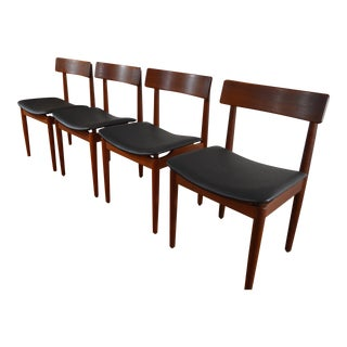 Nils Jonsson for Troeds Sweden Teak Dining Chairs - Set of 4