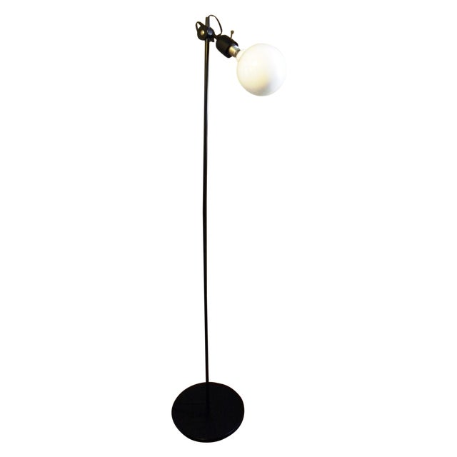 Vintage Modern Black Floor Lamp Chairish