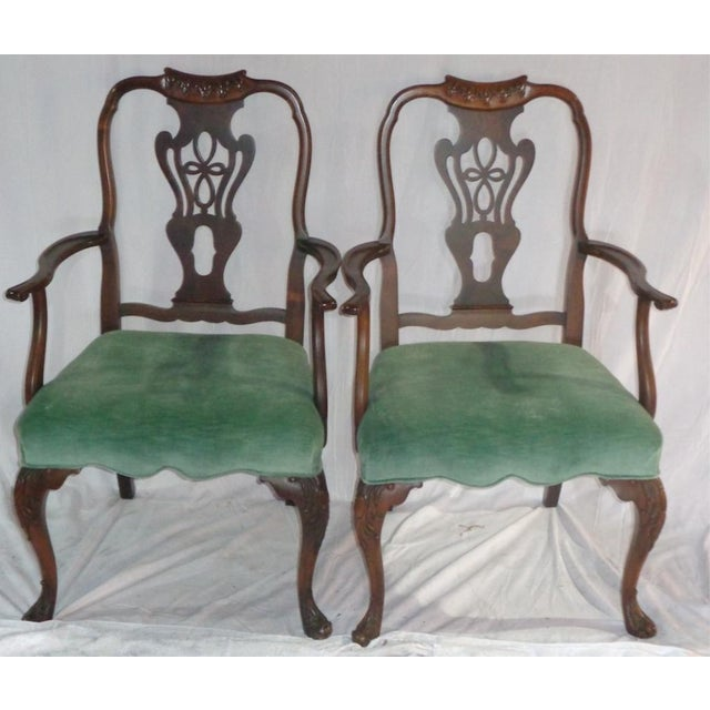 Batesville Mahogany Dining Chairs- Set of 6 - Image 9 of 11