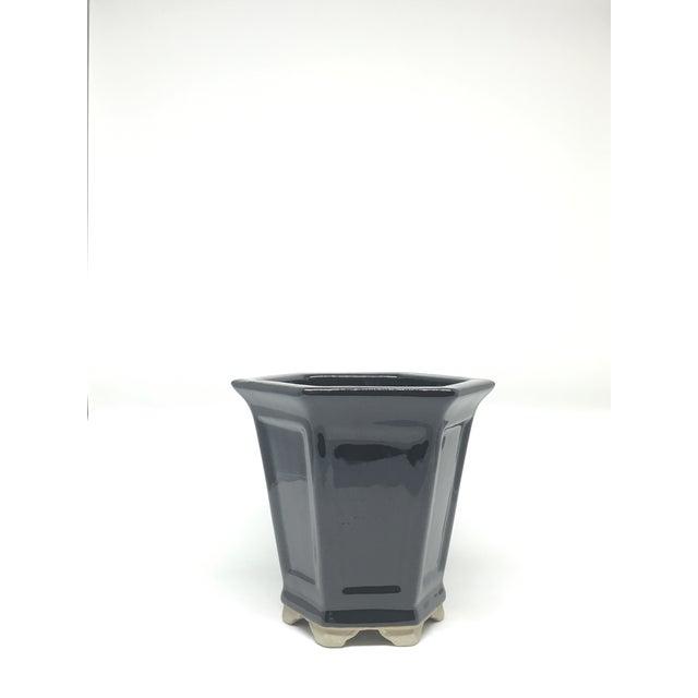 Vintage Hand-Glazed Asian Planter - Image 4 of 7