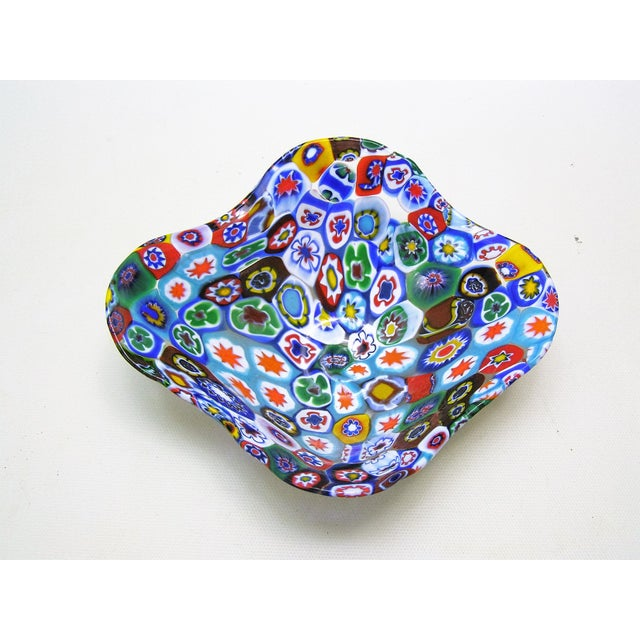 Fratelli Toso Millefiore Mosaic Murano Glass Bowl - Image 2 of 10
