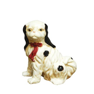 Staffordshire Style English Spaniel Porcelain Dog