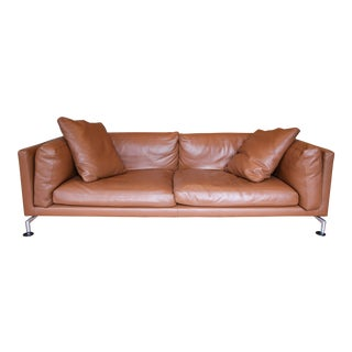 Giorgio Soressi for Design Within Reach Leather Como Sofa